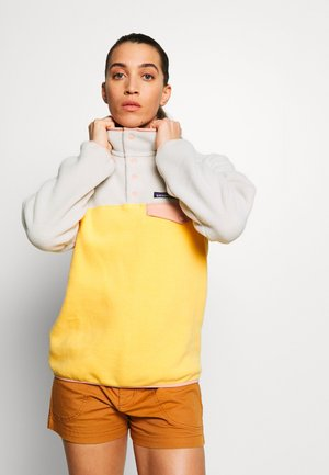 SYNCH SNAP - Fleece jumper - saffron
