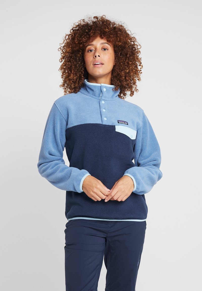 Patagonia - SYNCHILLA - Fleecepullover - neo navy/woolly blue
