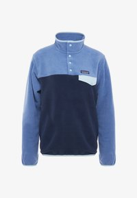 Patagonia - SYNCHILLA - Fleecepaita - neo navy/woolly blue - 4
