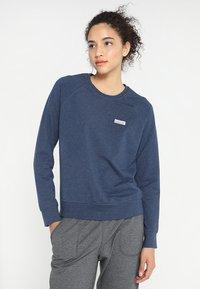 Patagonia - PASTEL LABEL AHNYA CREW - Sweatshirt - stone blue - 0