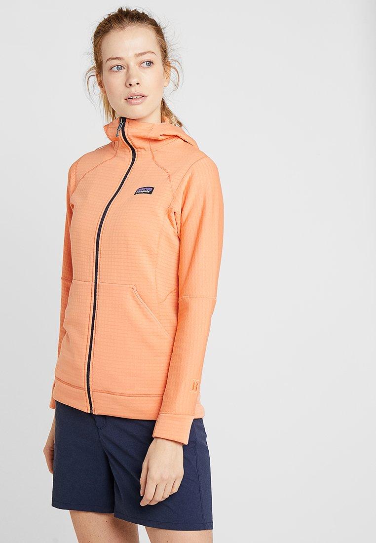 Patagonia - FULL ZIP HOODY - Fleece jacket - peach sherbet
