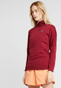 Patagonia - Fleecegenser - arrow red - 0