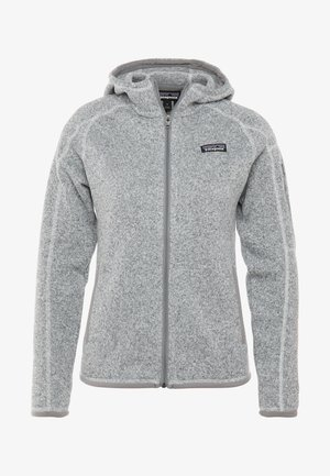 BETTER SWEATER HOODY - Giacca in pile - birch white