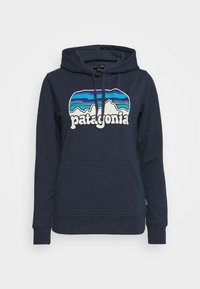 Patagonia - FITZ ROY FAR OUT AHNYA HOODY - Hoodie - stone blue - 4