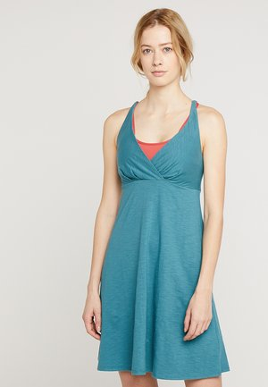 AMBER DAWN - Sports dress - tasmanian teal