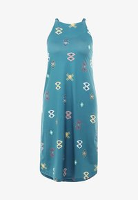 Patagonia - SLIDING ROCK DRESS - Jerseykjole - spaced out/tasmanian teal - 4