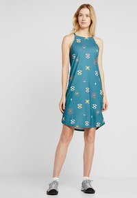 Patagonia - SLIDING ROCK DRESS - Jerseykjole - spaced out/tasmanian teal - 1