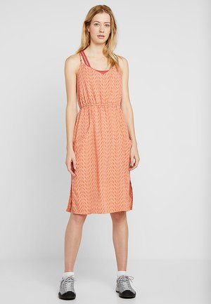 LOST WILDFLOWER DRESS - Day dress - sunset orange