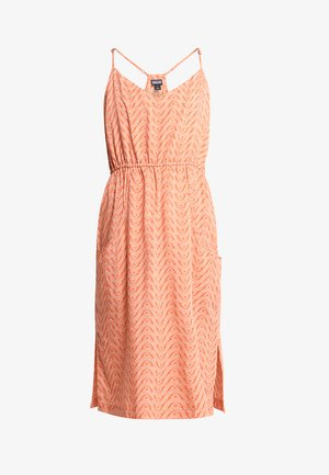LOST WILDFLOWER DRESS - Denní šaty - sunset orange