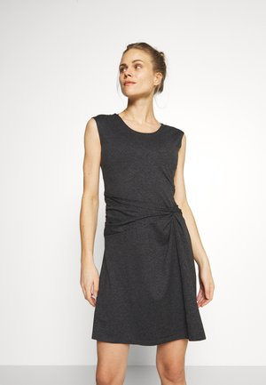 SEABROOK TWIST DRESS - Jerseykjole - forge grey