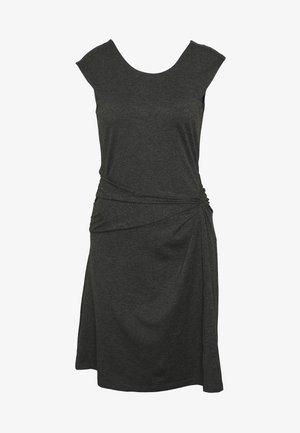 SEABROOK TWIST DRESS - Jerseykjole - forge grey