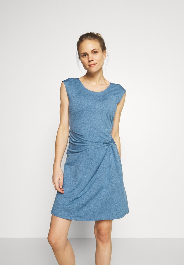 SEABROOK TWIST DRESS - Jerseyjurk - pigeon blue