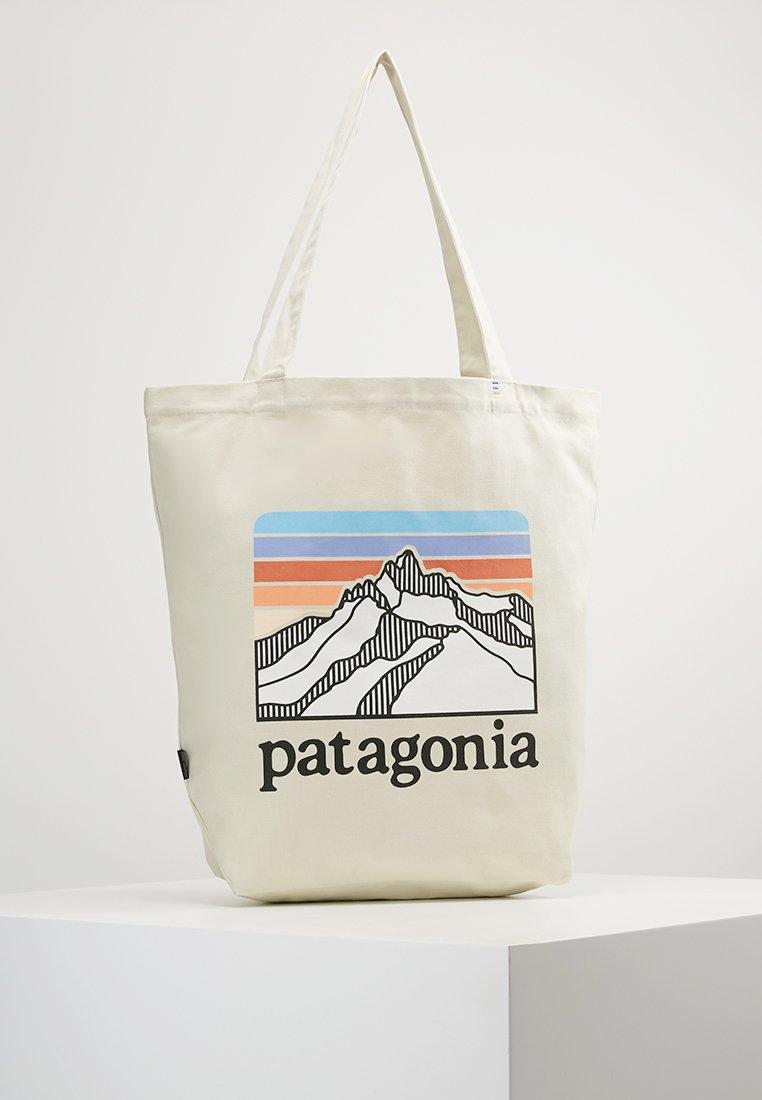 Patagonia - MARKET TOTE - Sporttas - line logo ridge: bleached stone