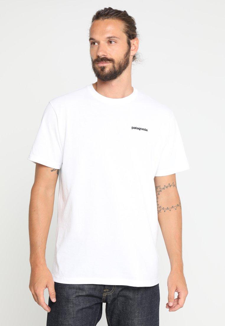 Patagonia - LOGO RESPONSIBILI TEE - Camiseta estampada - white