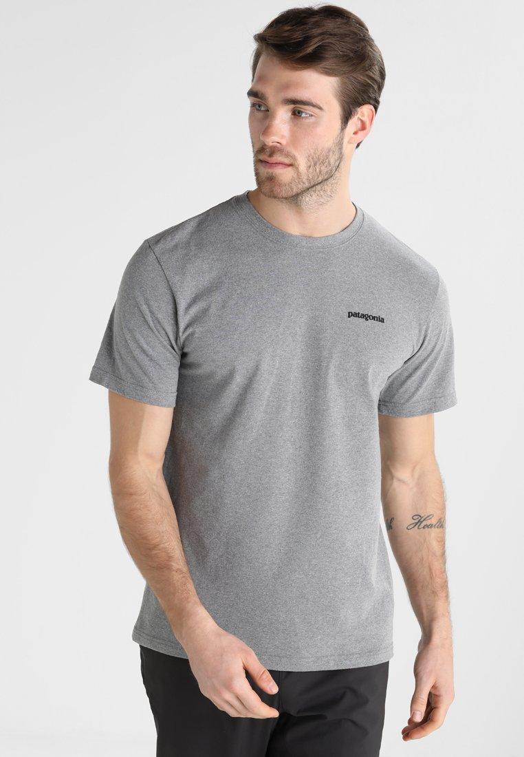 Patagonia - LOGO RESPONSIBILI TEE - Print T-shirt - grey