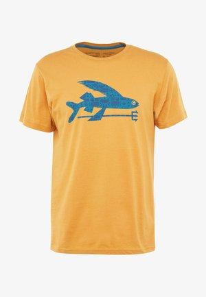 FLYING FISH - T-shirt med print - glyph gold
