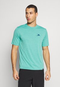 Patagonia - CAP COOL DAILY GRAPHIC - Camiseta estampada - turquoise - 0