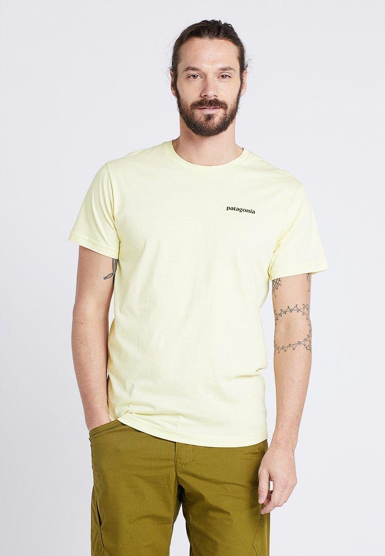 Patagonia - LOGO ORGANIC - Camiseta estampada - resin yellow
