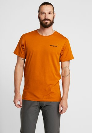 LOGO ORGANIC - T-shirt con stampa - hammonds gold