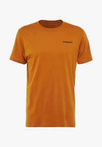 Patagonia - LOGO ORGANIC - T-shirt med print - hammonds gold - 3