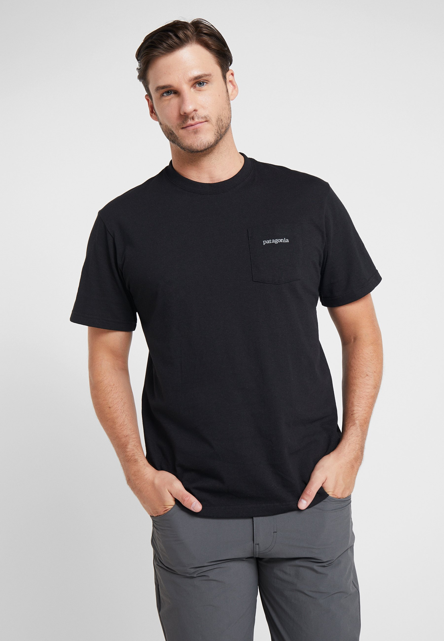 Imprimé TeeT Line Patagonia Ridge Pocket Responsibili shirt Logo Black MpSUVzGq