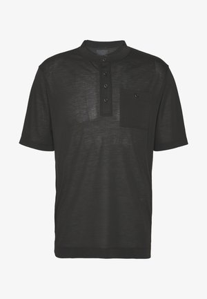 CAP COOL TRAIL BIKE HENLEY - T-Shirt print - black