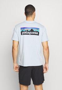 Patagonia - LOGO RESPONSIBILI TEE - T-Shirt print - big sky blue - 2
