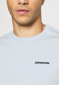 Patagonia - LOGO RESPONSIBILI TEE - T-Shirt print - big sky blue - 4