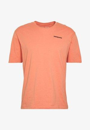 LOGO ORGANIC - T-shirt imprimé - mellow melon