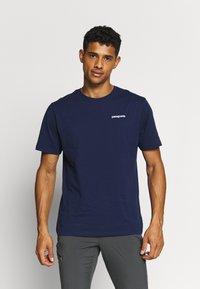 Patagonia - LOGO ORGANIC - Camiseta estampada - classic navy - 2