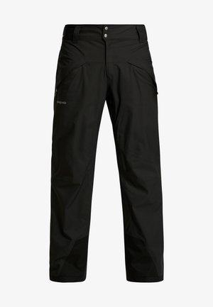 SNOWSHOT PANTS - Snow pants - black