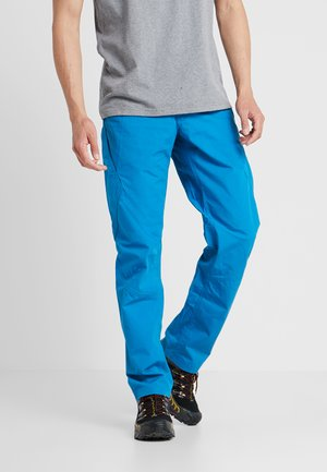 VENGA ROCK PANTS - Tygbyxor - balkan blue