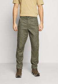 Patagonia - HAMPI ROCK PANTS - Trousers - industrial green - 0