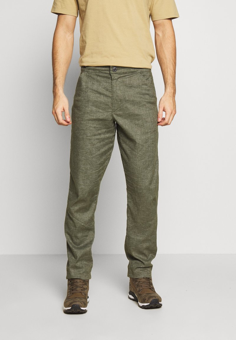 Patagonia - HAMPI ROCK PANTS - Trousers - industrial green