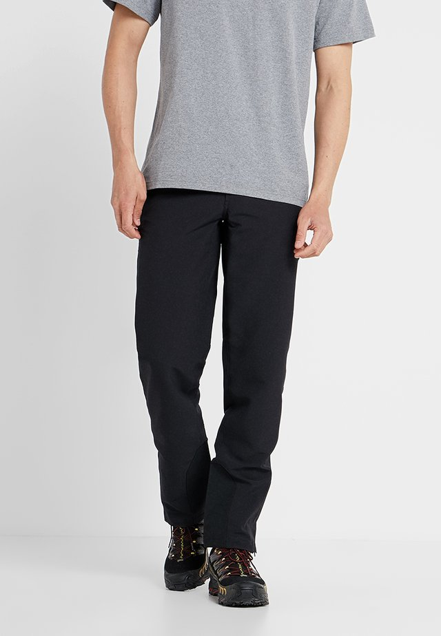 CRESTVIEW PANTS REGULAR - Tygbyxor - black