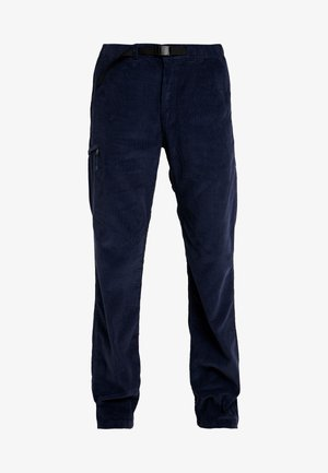 ORGANIC PANTS - Trousers - neo navy