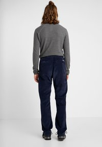 Patagonia - ORGANIC PANTS - Spodnie materiałowe - neo navy - 2