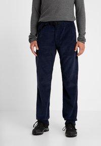 Patagonia - ORGANIC PANTS - Spodnie materiałowe - neo navy - 0