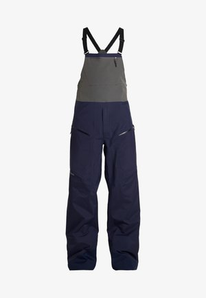 SNOWDRIFTER BIBS - Snow pants - classic navy