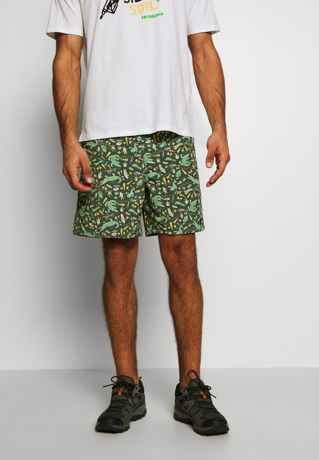 BAGGIES LONGS - Sports shorts - kale green