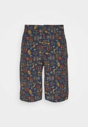 LANDFARER BIKE SHORTS - Sports shorts - smolder blue