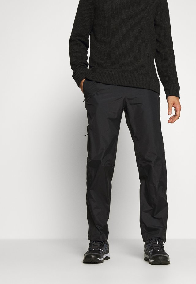 TORRENTSHELL PANTS - Outdoor trousers - black