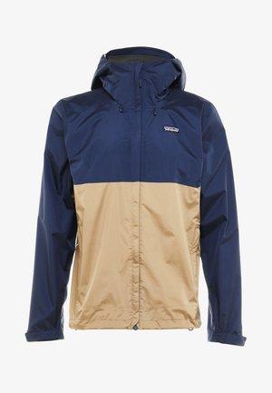 TORRENT - Hardshell jacket - classic navy/mojave khaki
