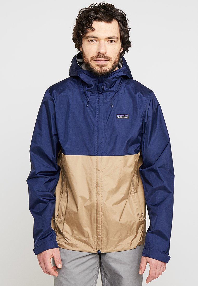 Patagonia - TORRENT - Outdoorjas - classic navy/mojave khaki