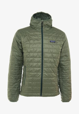 NANO PUFF HOODY - Outdoorjacka - industrial green