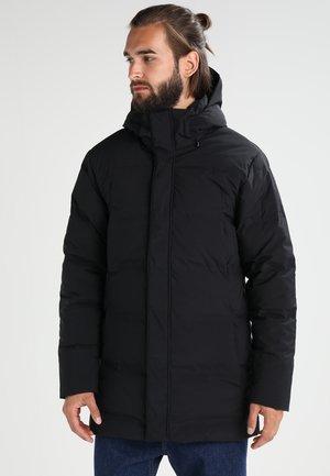 JACKSON GLACIER PARKA - Kabát zprachového peří - black