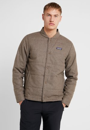 BOMBER - Outdoor jacket - bristle brown
