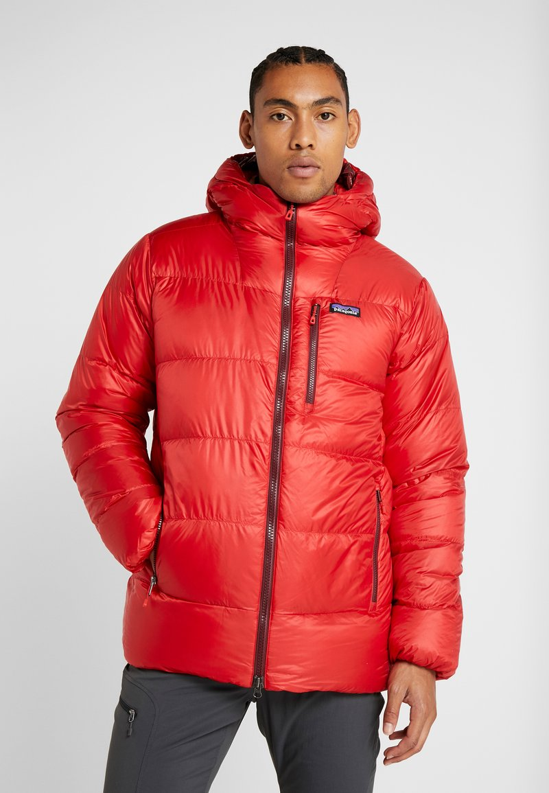Patagonia - FITZ ROY  - Down jacket - fire/oxide red