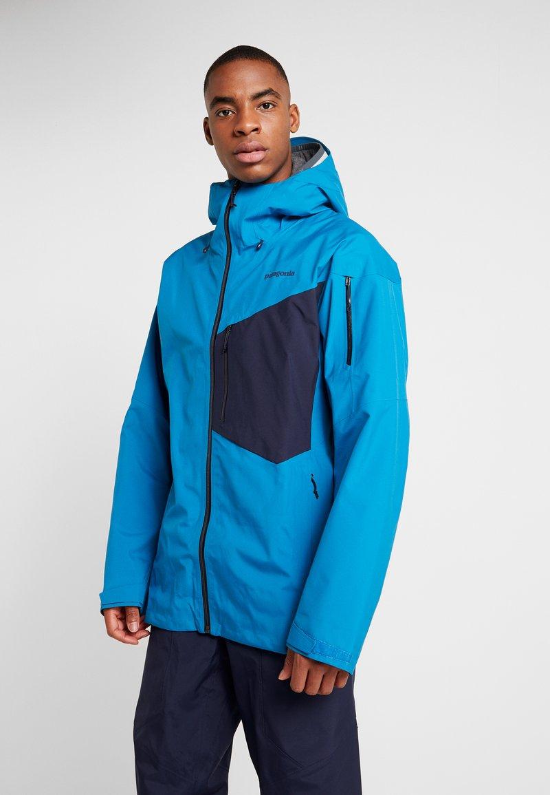 Patagonia - SNOWDRIFTER - Ski jacket - balkan blue