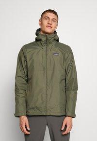 Patagonia - TORRENTSHELL - Hardshell jacket - industrial green - 0